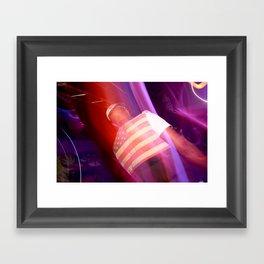 flag this! Framed Art Print