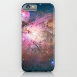 Great Nebula in Orion, Messier 42. iPhone Case