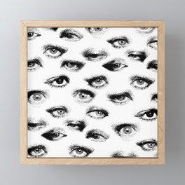 Eye Pattern 2020 Framed Mini Art Print