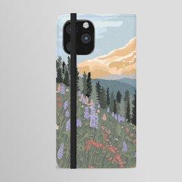 Mount Rainier National Park iPhone Wallet Case