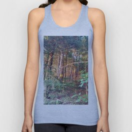 Camouflage fortress Unisex Tank Top