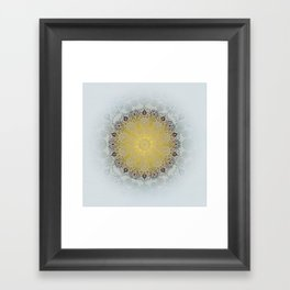 Mandala Love Framed Art Print