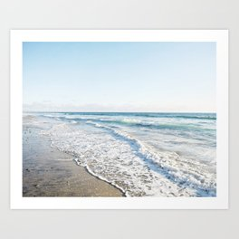 San Diego Waves Art Print