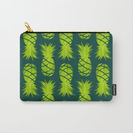 Pop Art Pineapple Pattern Carry-All Pouch