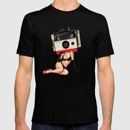 Camera Pin-Up T-shirt