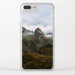Alaskan Summer Nights in the Alpine Clear iPhone Case