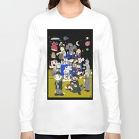 dr who Long Sleeve T-shirts featuring Dr Who Kiddies by chrismcquinlan