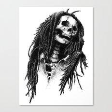 the Legend of Reggae Canvas Print