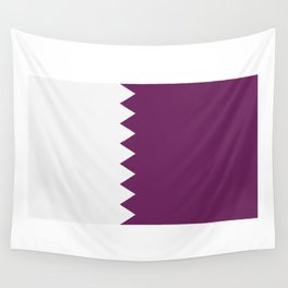 flag of qatar Wall Tapestry
