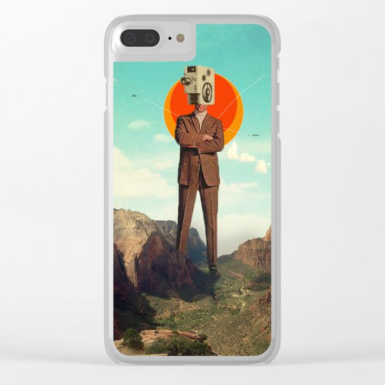 Video404 Clear iPhone Case