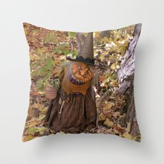 Rucus Studio Hag of the Woods Throw Pillow