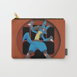 Lucario-Fighting Type Revisited *SPECIAL EDITION* Carry-All Pouch