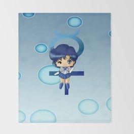 Sailor Mercury Throw Blanket