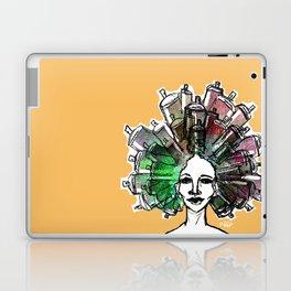 Paint the town Laptop & iPad Skin