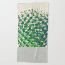 Cactus Dip Beach Towel