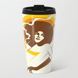 Retropolitan (warm) Metal Travel Mug