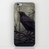 raven iPhone & iPod Skins featuring Raven by Raven-Art
