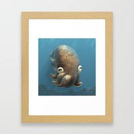 Olive Cuttle Framed Art Print