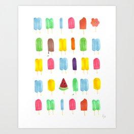 Summer Pop Art Print