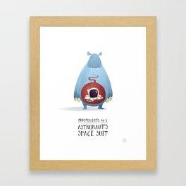 Monster Diets No.1 Framed Art Print