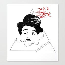 Chaplin Conspiracy Canvas Print