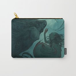 The day a mermaid found a shipwreck Carry-All Pouch