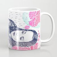 daria Mugs featuring daria by Andon Georgiev