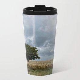 Tree and Clouds Travel Mug