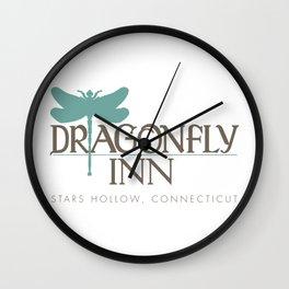 Dragonfly Inn Stars Hollow Artwork Wall Clock