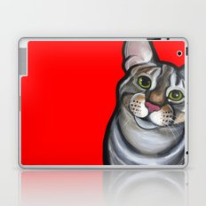 Lola the tabby Laptop & iPad Skin