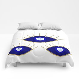 All Evil Eyes on You Comforters