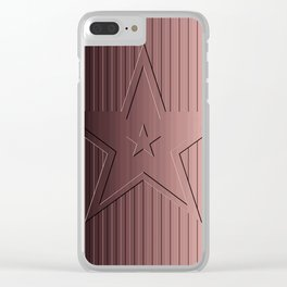 You're A Star! Embossed Fresco Clear iPhone Case