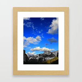 Tunnel View, Yosemite National Park, Fall 2013, Select Colour Framed Art Print