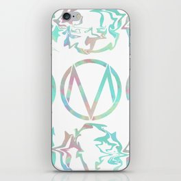The Maine | Watercolor 'M' iPhone Skin