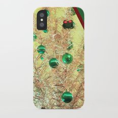 The View At Christmas Slim Case iPhone X