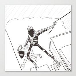 Spider-Beard Canvas Print