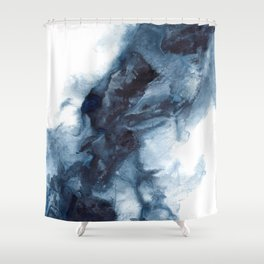 Indigo Depths No. 1 Shower Curtain