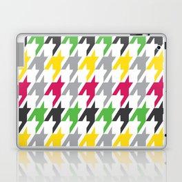 Summer Houndstooth Pattern Laptop & iPad Skin