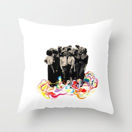 We are all cool though! Throw Pillow