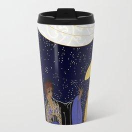 "Art Deco Design ""Nocturne"" by Erté Travel Mug"