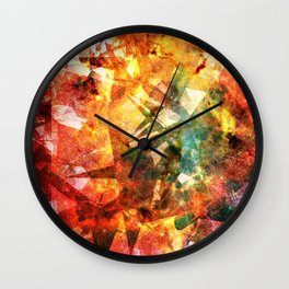 Celestial Mission  Wall Clock