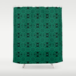Lush Meadow Pinwheels Shower Curtain