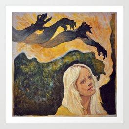 Laura Marling // The beast Art Print