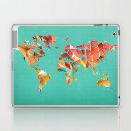 Geometric Map Laptop & iPad Skin