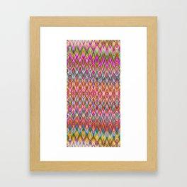 Missoni Style Framed Art Print
