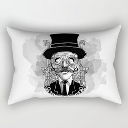 Steampunk Man Rectangular Pillow