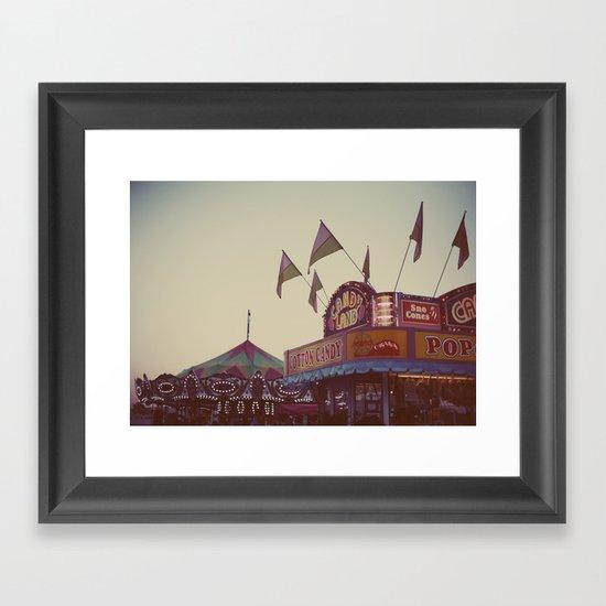 August Nights Framed Art Print