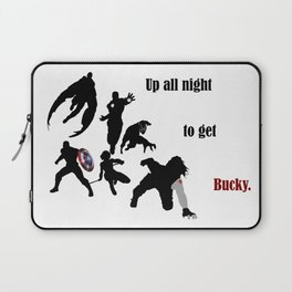 Up All Night To Get Bucky Laptop Sleeve