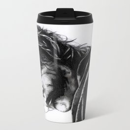 The joker - Heath Ledger Metal Travel Mug