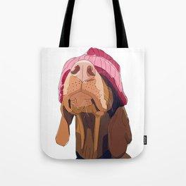 Hipster Vizsla Tote Bag